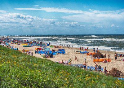 Plaża w Dąbkach